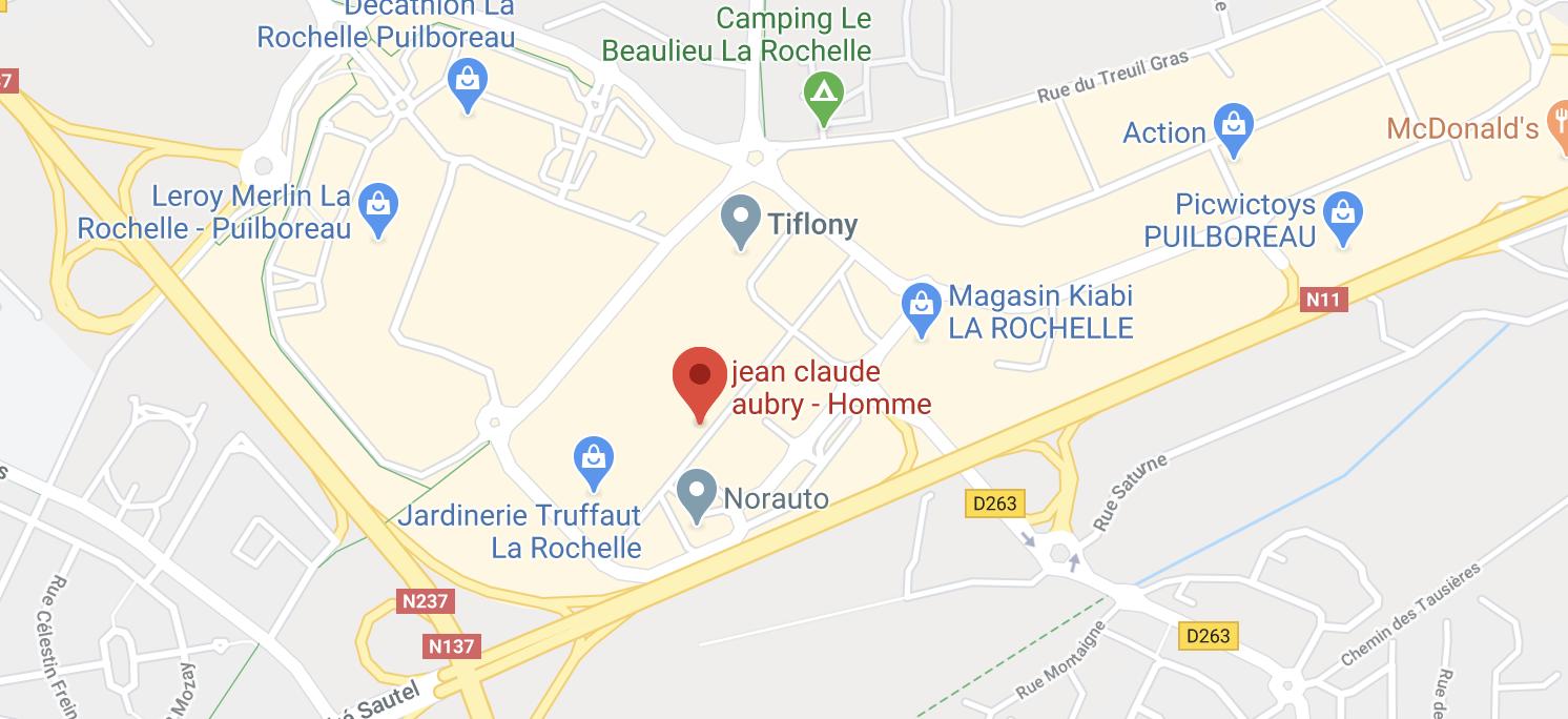 Jean-Claude Aubry Homme - La Rochelle